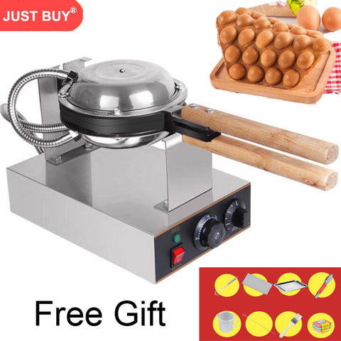 Professional Commercial Electric Egg Bubble Waffle Maker