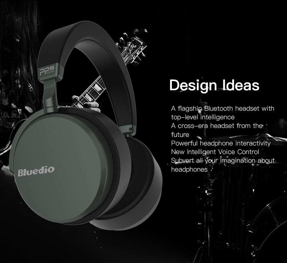 Bluedio V2  Bluetooth headphones