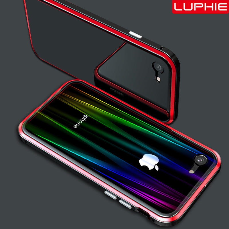 Colorful Laser Aurora Case