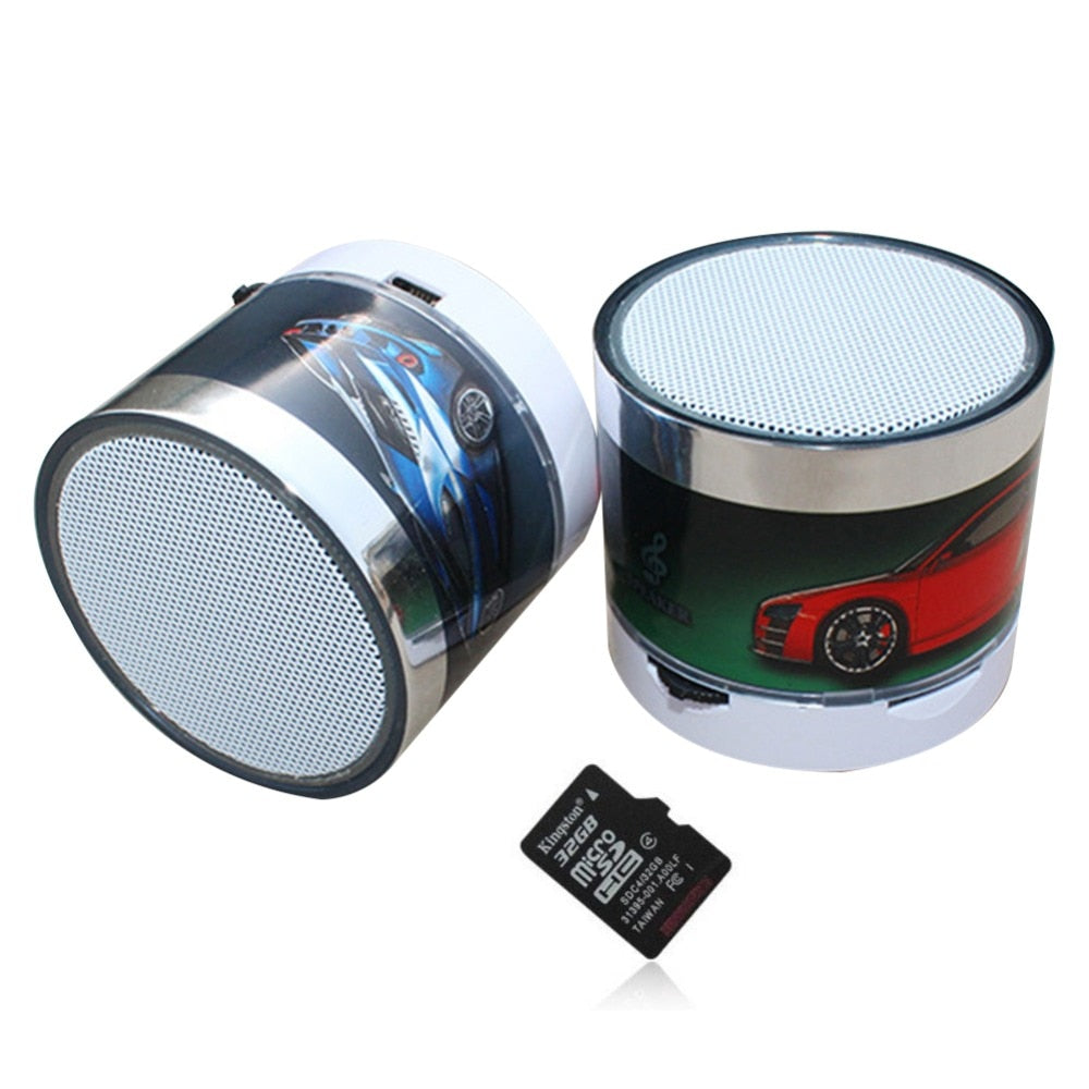CALION Mini Car Stereo Bluetooth Speaker