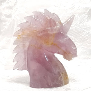 Amethyst Crystal Unicorn