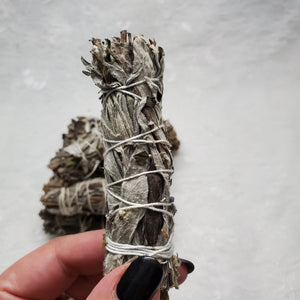 "4"" Mugwort Smudge Stick"