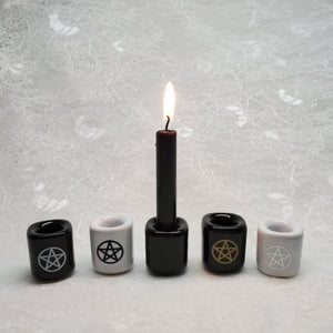 Ceramic Spell Candle Holders