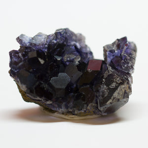 Gem Quality Dark Blue Purple Fluorite