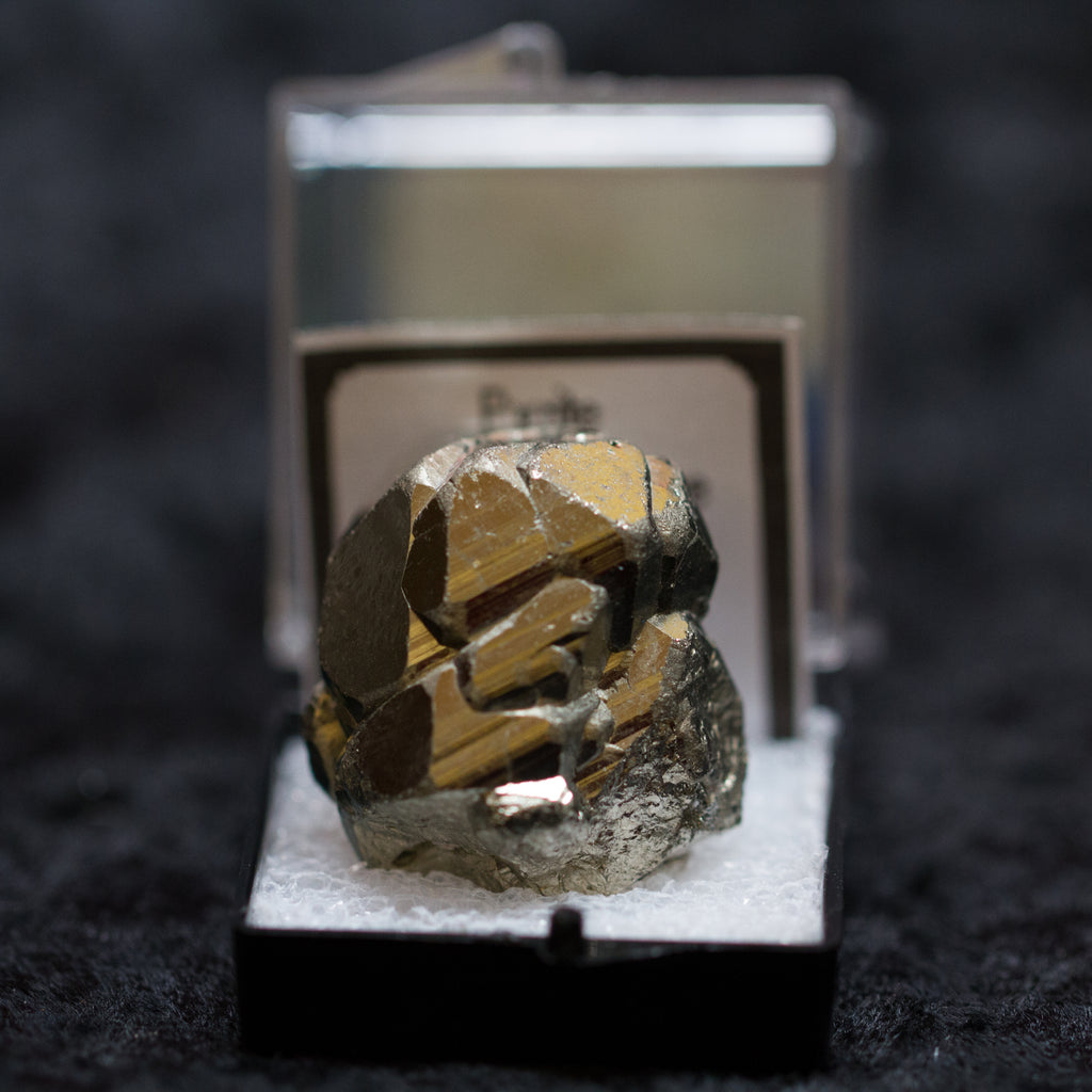 Pyrite Specimen in Box