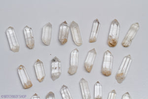 Mini Single Terminated Quartz Points