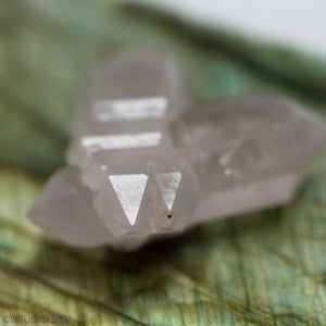 Cross Tantric Twin Quartz Specimen