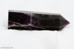 Deep Purple Fluorite Tower 8""