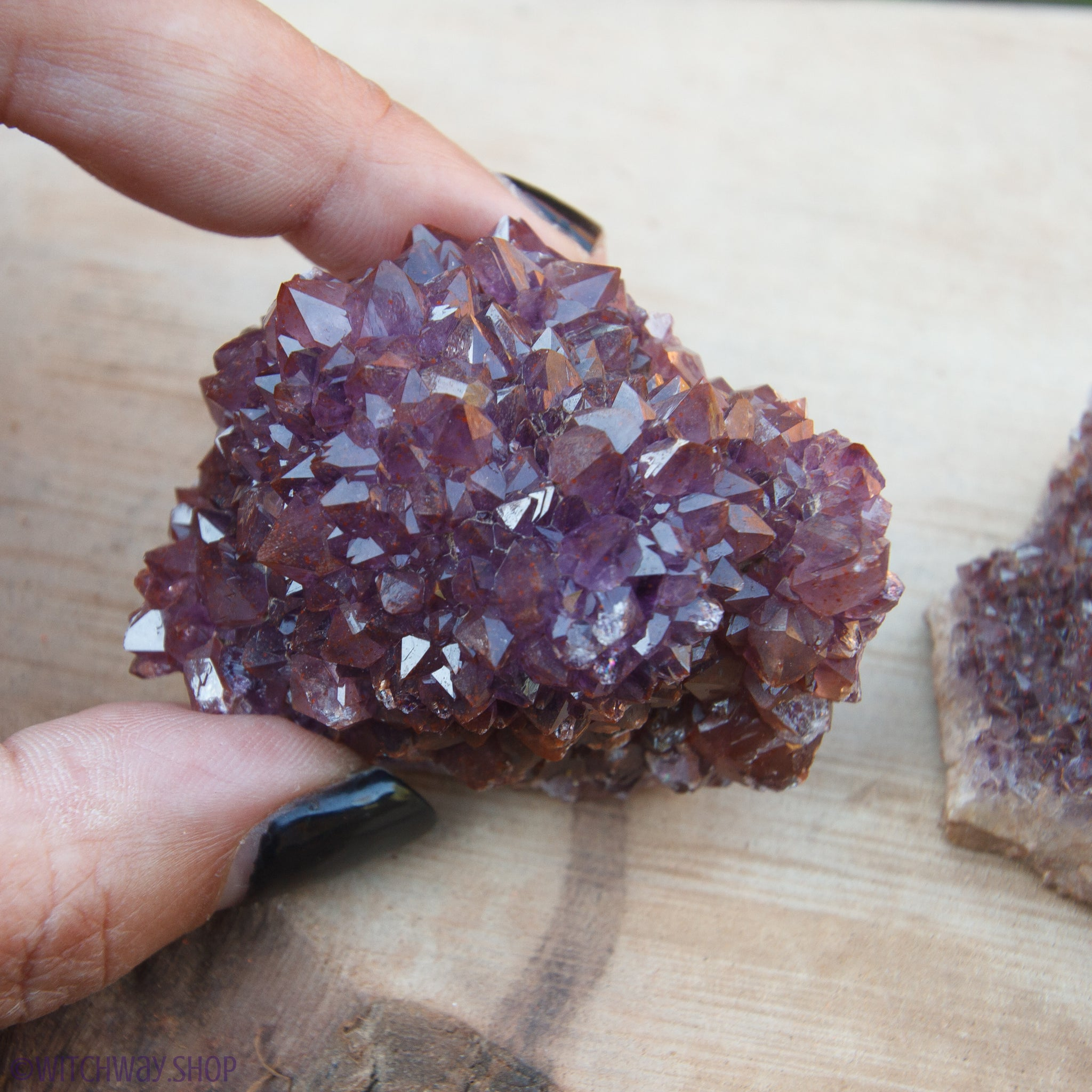 Hematite Included Amethyst [Thunder Bay]
