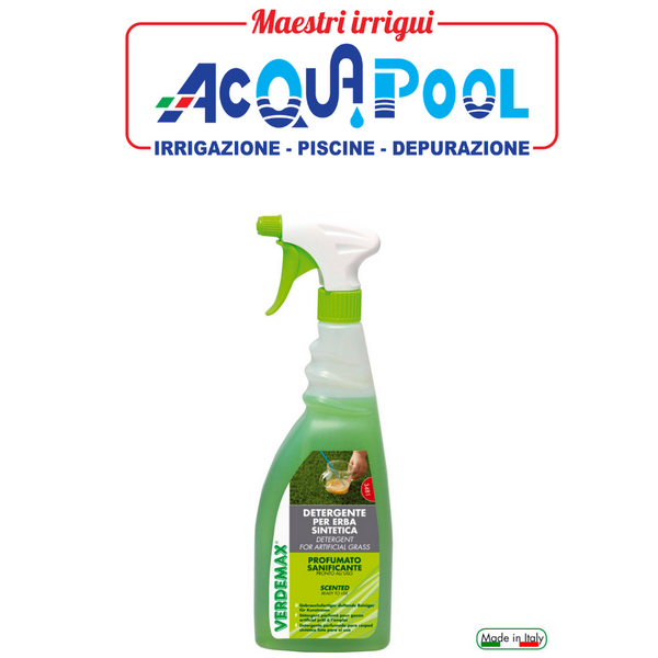 Detergente pronto all'uso per la pulizia di manti in erba sintetica 750ml cod. 3481
