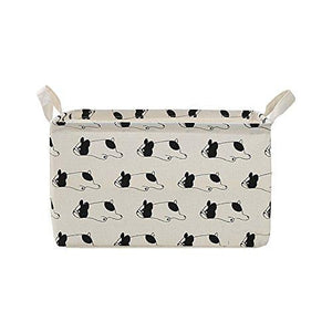 French Bulldog Canvas Storage Box 2 Pack For You Frenchic
