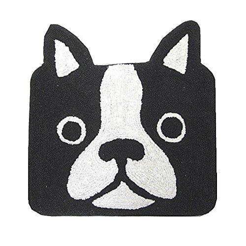 Frenchie French Bulldog Black Head Entrance Door Mat For You Frenchic