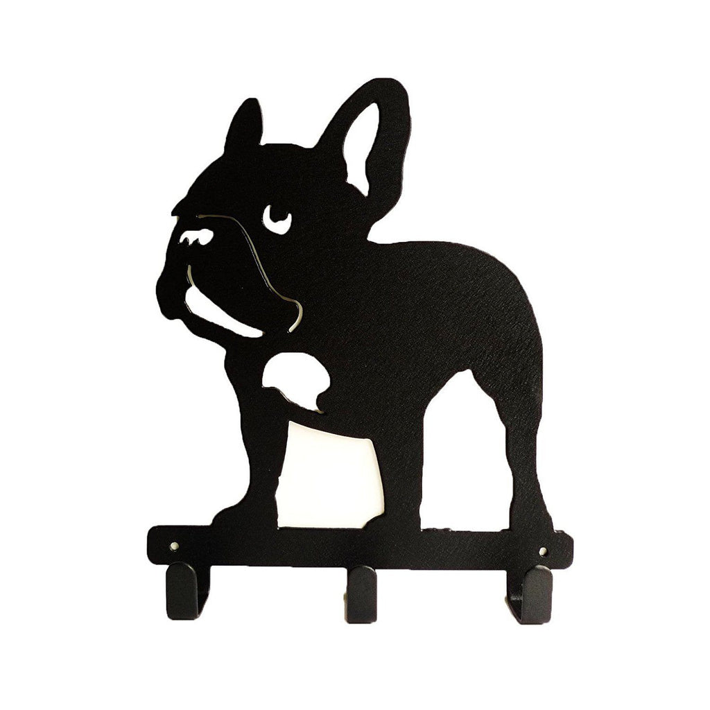 Frenchie French Bulldog Wall Metal Rack Hat Hanger Key Holder Hook For You Frenchic