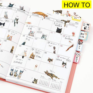 French Bulldog Life Tiny Lovely Sticker 2 pack for paper craft agenda or card decoration