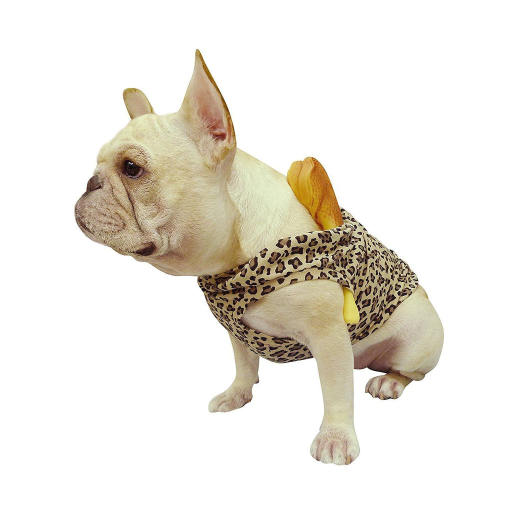 Frenchie Handmade Pet Clothing Flintstones Stone Age Style for French Bulldog or Pug Wear For Pet Frenchic