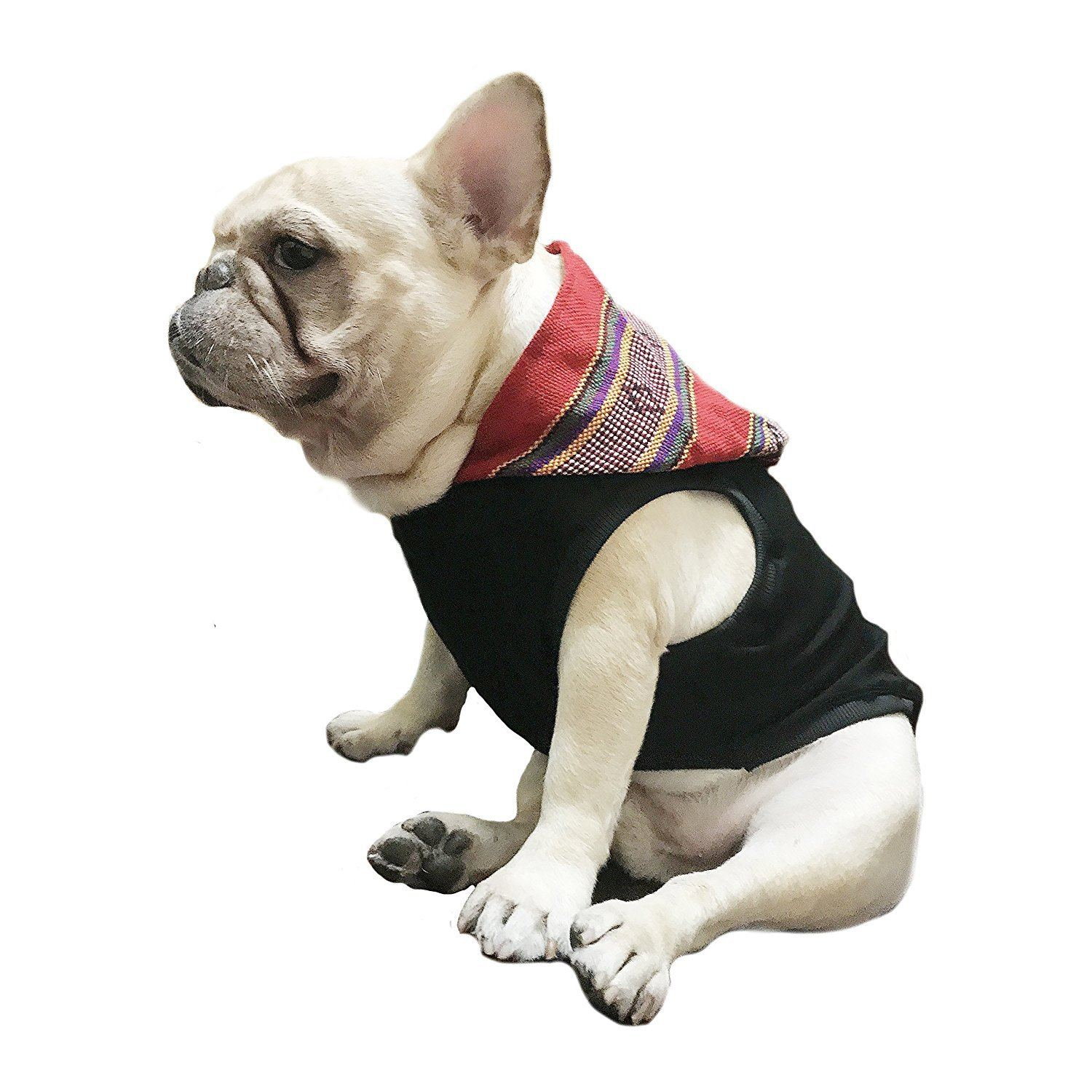 Frenchic Pet Apparel bohemia folk style Hoodie for French bulldog or pug For Pet Frenchic