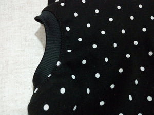 Frenchie Pet Apparel Black dot with Black Hoodie For Pet Frenchic