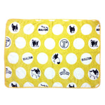 Frenchie French Bulldog Super Soft Fleece YELLOW Pet Bed Blanket For Pet Frenchic