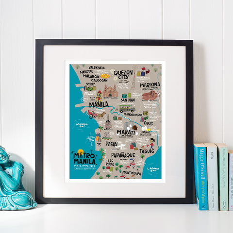 Metro Manila 8 x 10 Downloadable Art Print