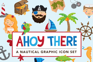 Nautical Illustrations graphics pack