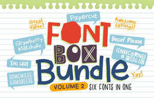 Font Box Bundle Volume 2