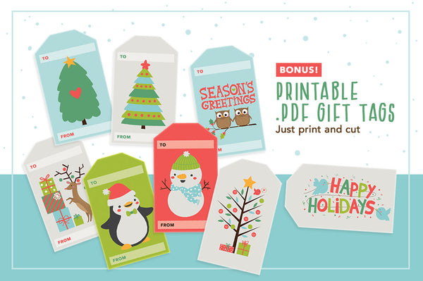 Christmas Critters Illustration Pack