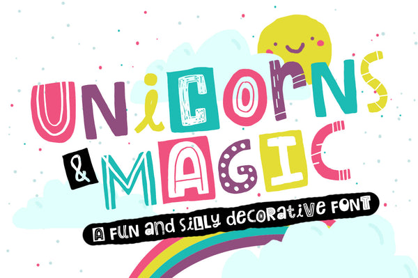 Unicorns and Magic Font