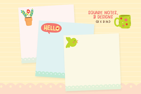 Hello, Cat Stationery