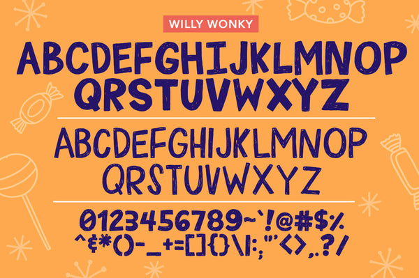 Willy Wonky Font