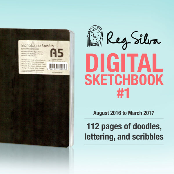 Sketchbook #1 Digital Download