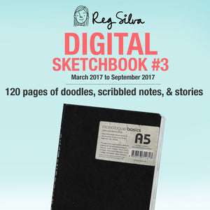 Sketchbook #3 Digital Download