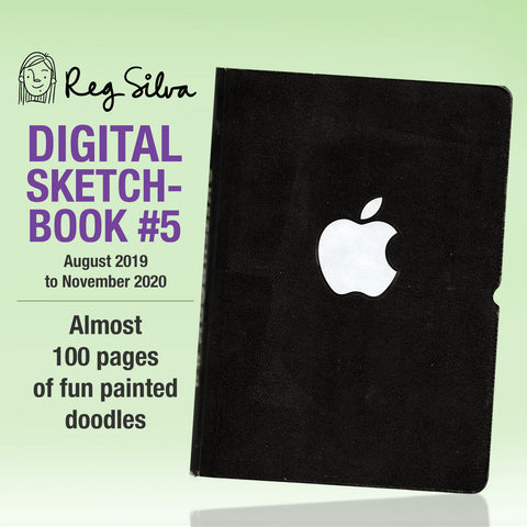 Sketchbook #5 Digital Download