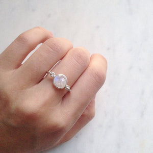sterling silver moonstone ring shazoey jewellery