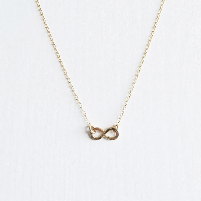 gold infinity necklace shazoey