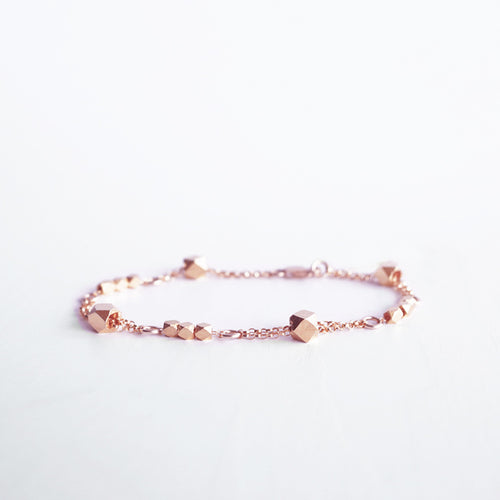 rose gold bracelet galaxy shazoey