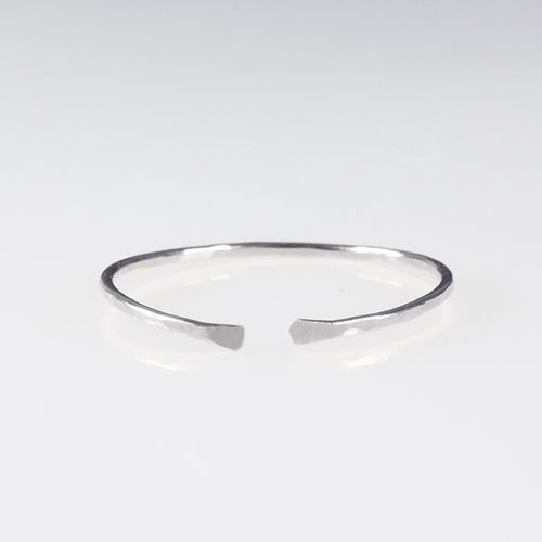 sterling silver cuff ring stack ring shazoey