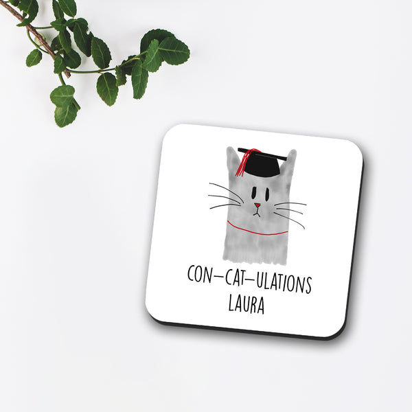 Concatulations Custom Coaster