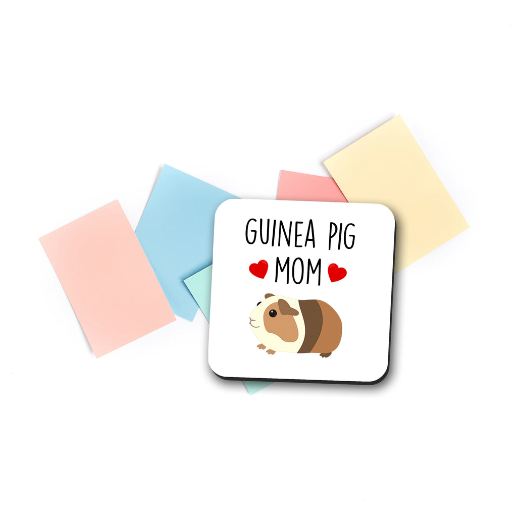 guinea pig mom coaster