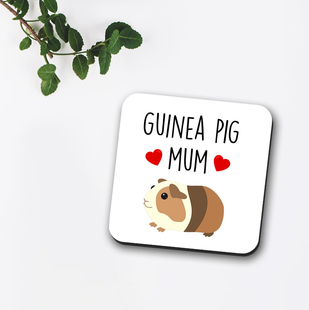 Guinea Pig Mum / Dad / Mom Coaster