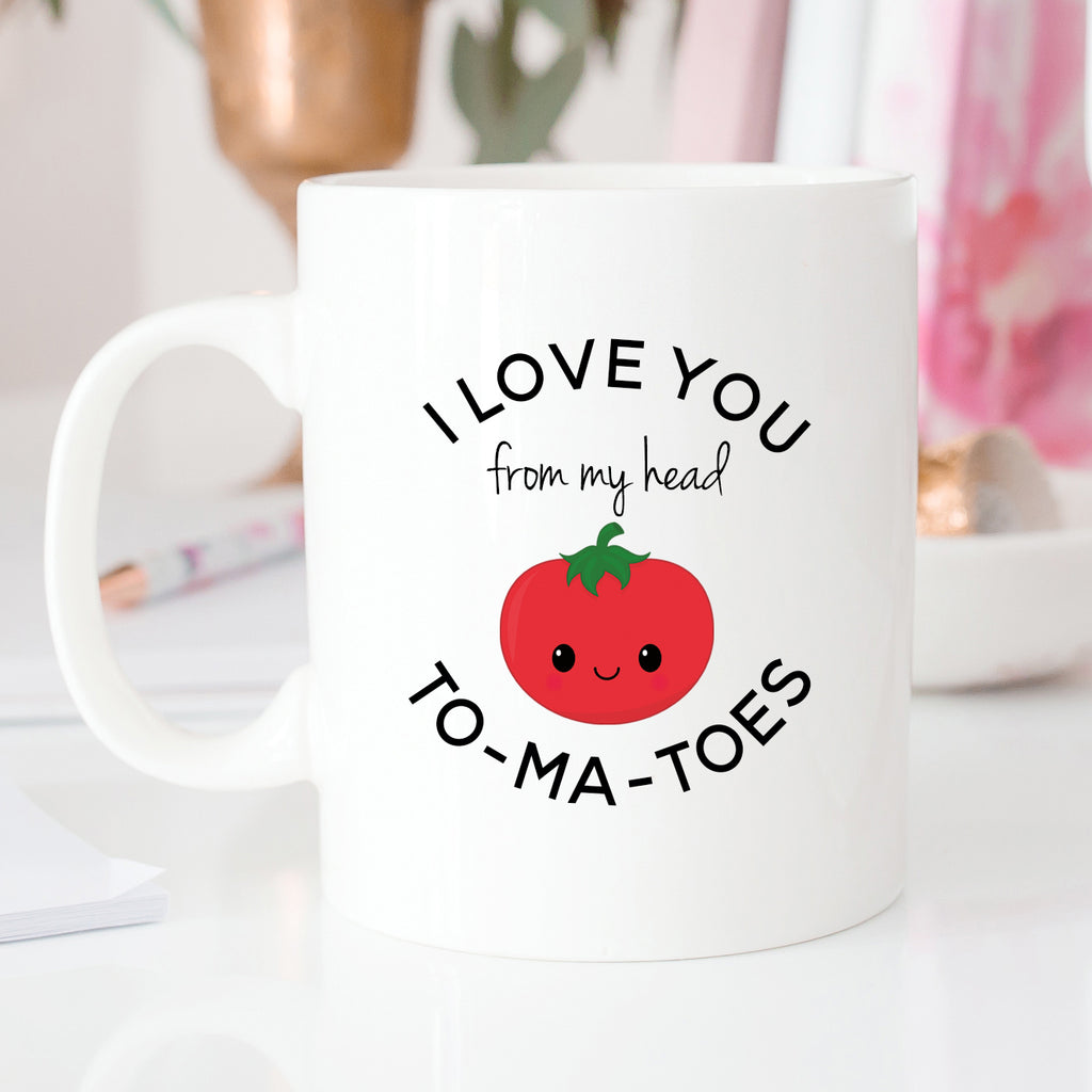 I Love You From My Head To Ma Toes Mug