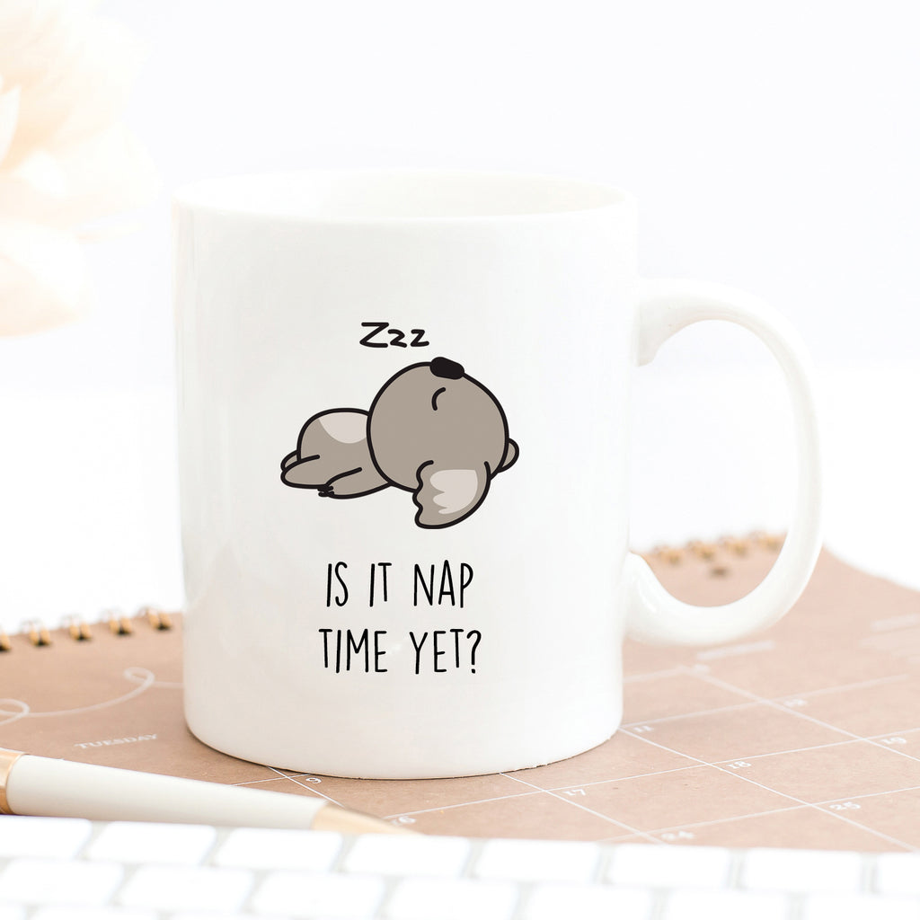 Is It Nap Time Yet Koala Mug