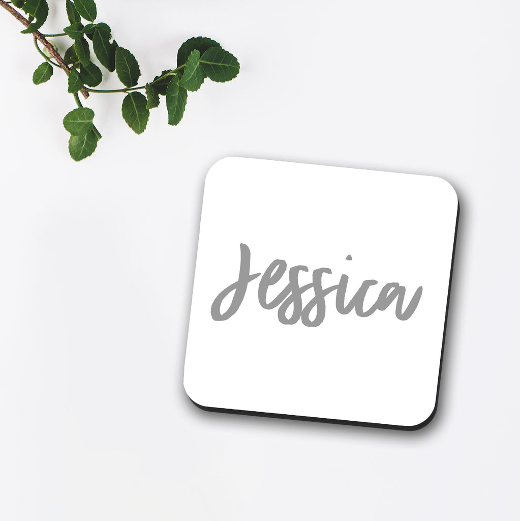 Custom Name Coaster