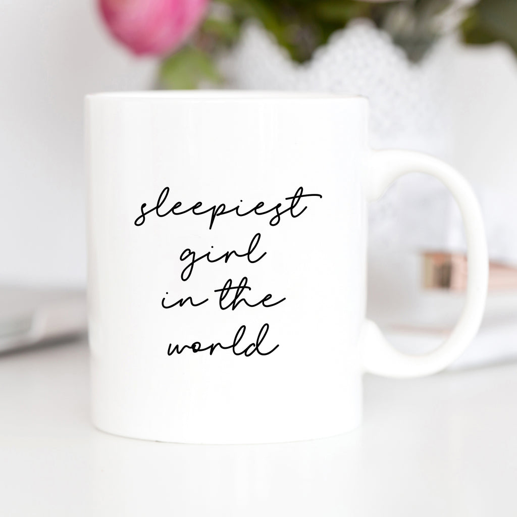 Sleepiest Girl In The World Mug