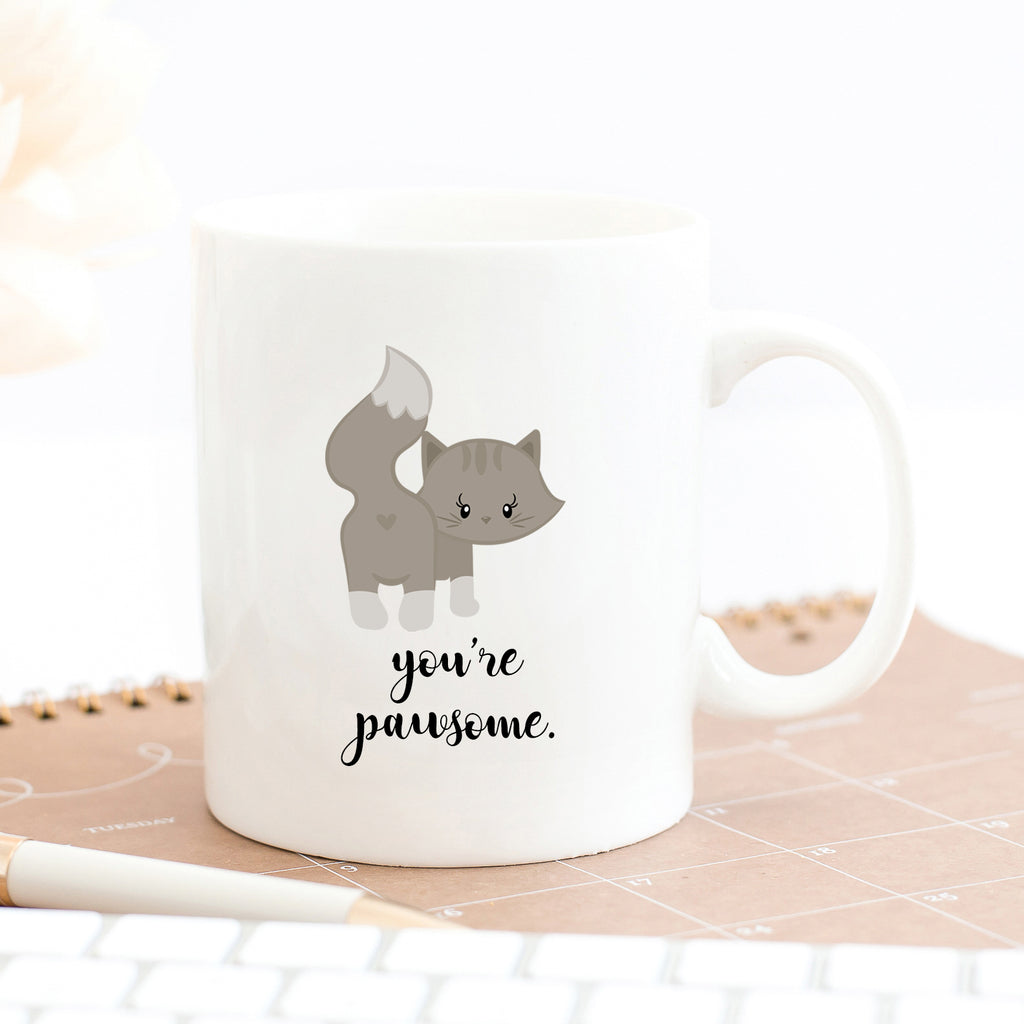 You're Pawsome Cat Mug