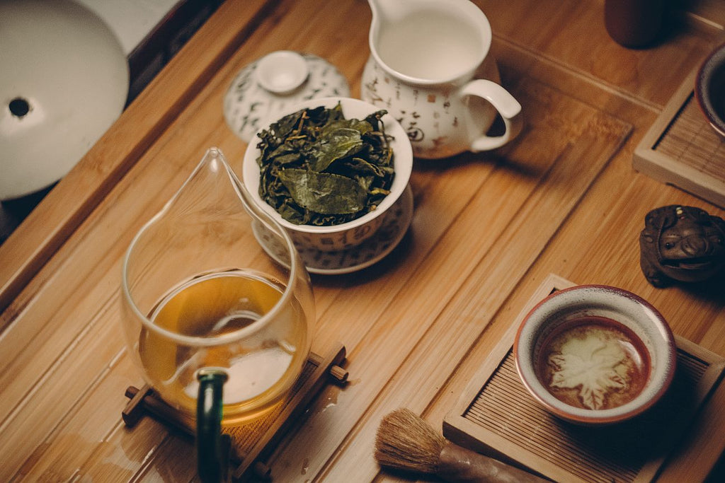 Brewing oolong gongfu style