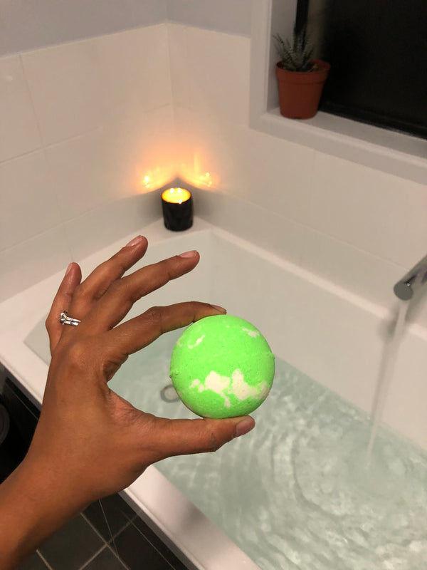 Coconut & Lime Jelly Bath Bomb
