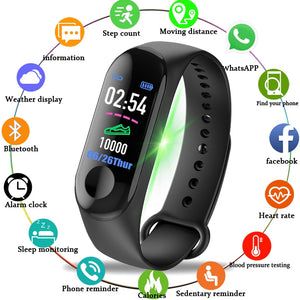 Fitness tracker - Blood Pressure, Heart Rate Monitor Smart Watch