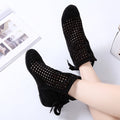 Women Cute Cutout Ankle Boots