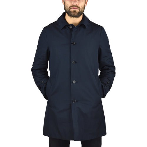 Cappotto Impermeabile ASPESI Vodka LE 3I41 in Thermore Blu