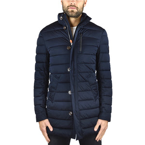 Piumino Cappotto SAVE THE DUCK D4339M Blu Scuro